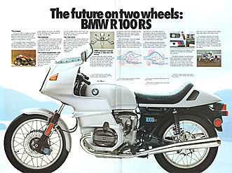 BMW Factory Brochure /& Poster Circa 1984