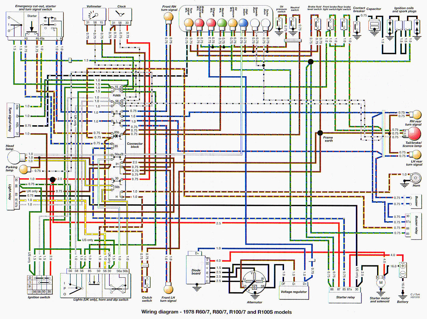 Bmw Wiring Diagrams X6 Library Cooling System R75 5 Diagram Factory