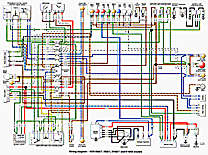 78r100wiretn late '70s bmw motorcycle ephemera bmw r100rs gauge wiring diagram at aneh.co